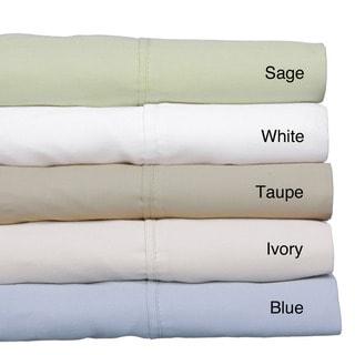 Tailor Fit 400 Thread Count Cotton Flexfit Deep Pocket  Sheet Set