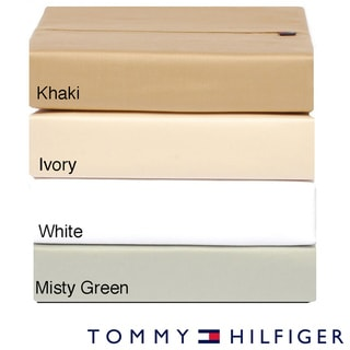 Tommy Hilfiger Cotton Sateen 300 Thread Count Sheet Set