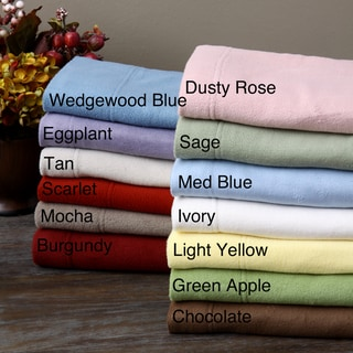 Twin or Full Microfleece Sheet Set