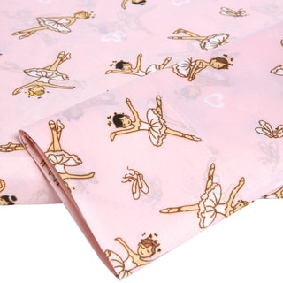 Your Decor Ballerinas Microfiber Twin-size Sheet Set