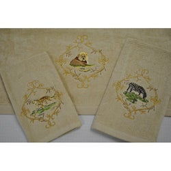 Sherry Kline 'Jungle Safari' Decorative 3-piece Towel Set