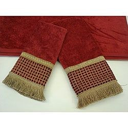 Sherry Kline Modern Checks Decorative 3-piece Towel Set