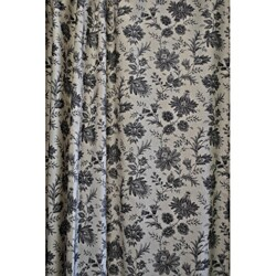 Sherry Kline Sakari Black Shower Curtain