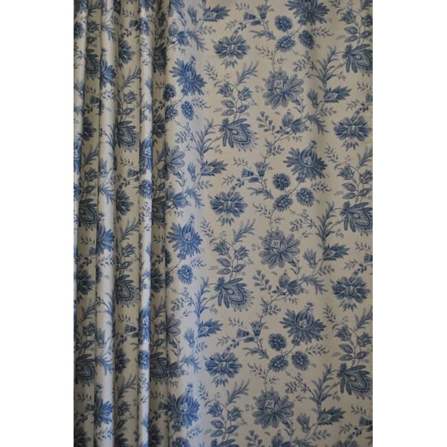 Sherry Kline Sakari Spa Blue Shower Curtain