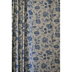 Sherry Kline Sakari Spa Blue Shower Curtain