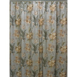 Sherry Kline Villa Flora Shower Curtain and Hook Set