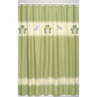 Sweet Jojo Designs Leap Frog Kids Shower Curtain
