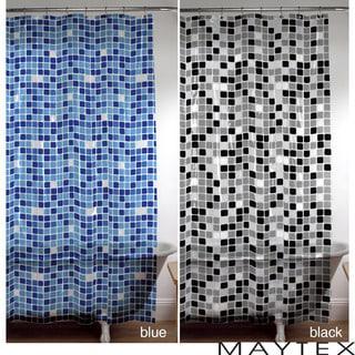 Maytex Tiles Shower Curtain