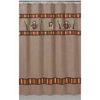 Sweet Jojo Designs Monkey Kids Shower Curtain