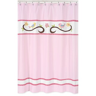 Song Bird Kids Shower Curtain