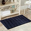 Spa 2400 Gram Journey Navy 27 x 45 Bath Rug (Set of 2)