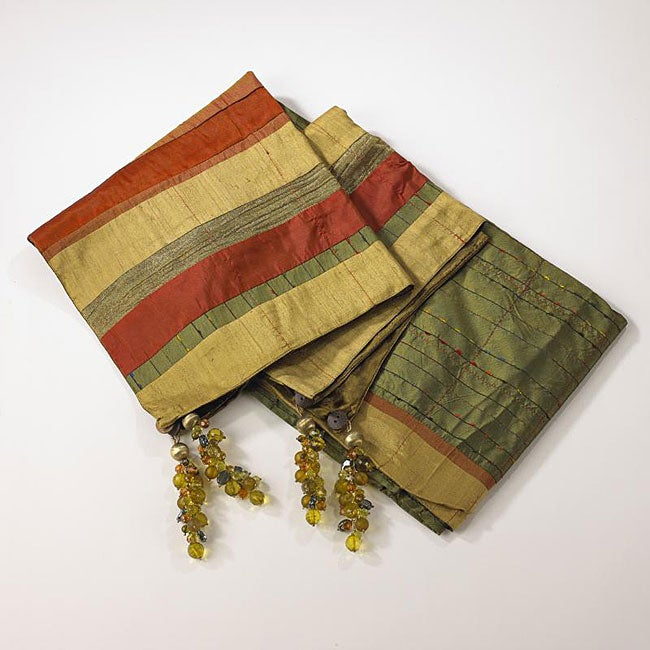 Spice Collection Green Throw