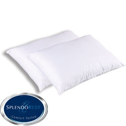 Splendorest Angel Soft 220 TC Cotton Down Alternative Standard-size Pillows (Set of 2)
