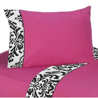 Sweet JoJo Designs 200 Thread Count Isabella Bedding Collection Cotton Sheet Set