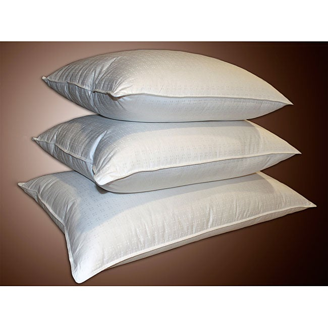 AT HOME by O Swiss Damask 310 Thread Count 600 Fill Power White Down Pillow at Sears.com