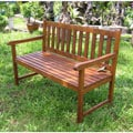 Acacia Wood 49-inch Bench