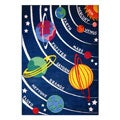 Planets Rug (5&#39;3 x 7&#39;6)