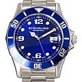 Stuhrling Original Clipper Men&#39;s Swiss Quartz Divers Watch