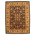 Hand-tufted Black Nikka Wool Rug (8' x 10')