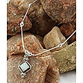 Indian Handcrafted White Opal Pendant (Set of 2)