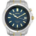 Seiko Men's Yellow-gold Plated Steel Perpetual Calendar Watch
