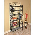Tall 6-shelf CD/ DVD Storage Rack
