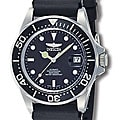 Invicta Men's Men Automatic Pro Diver S2 9110 Black Rubber Automatic Watch