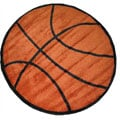 Basketball Rug (3&#39;3 Round)