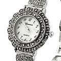 Geneva Women's Marcasite Antique Watch