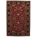 Hand-tufted Tarana Red Wool Rug (8&#39; x 10&#39;6)