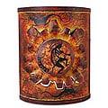 Song for the Sun Iron Candleholder (Mexico)