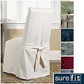 Sure Fit Cotton Classic Dining Chair Slipcovers (Set of 2)
