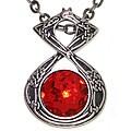 Carolina Glamour Collection Celtic Dragon Energy Pewter Unisex Necklace