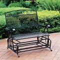 Iron Glider Bench Seat