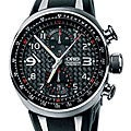 Oris TT3 Men's 674 7587 7264 RS Black Chronograph Automatic Watch