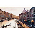 Hava 'Canal de Venice' Canvas Art