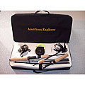 Travel Kit Rods and Reels Deluxe 8-piece Set