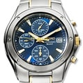 Seiko Men&#39;s Two-tone Chronograph Quartz Watch