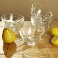 La Rochere Pressed Bee Glass Bowls (Set of 6)