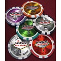 1000 Las Vegas Laser Professional Poker Chips