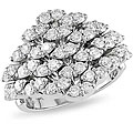 18k White Gold 1 3/4ct TDW Diamond Ring (G-H-I, SI)