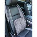 Memory Foam Grey Car Seat Lumbar Support