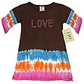 Sweet Jojo Designs Baby Girl&#39;s &#39;Love&#39; Tie-dye Dress