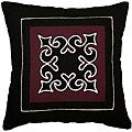 Lahu Tribe Decorative Plum Cotton Cushion Cover