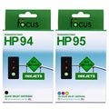 HP 94/ 95 2-pack Combo Ink Cartridge (Remanufactured)