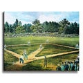 Currier & Ives Game of Baseball Canvas Art