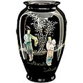 Black Tung Chi Porcelain Vase (China)