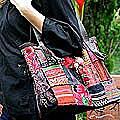 Cotton 'Hill Tribe Treasure' Handbag (Thailand)