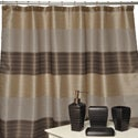Alys Oil-rubbed Bronze 4-piece Bathroom Accessory Set w/ Shower Curtain