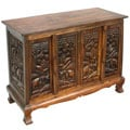 Royal Elephants Storage Cabinet / Sideboard Buffet